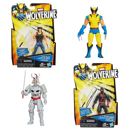 The Wolverine Movie 3 3/4-Inch Action Figures Wave 1