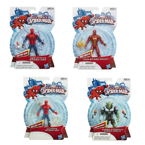 Ultimate Spider-Man All-Stars  Action Figures Wave 3 Case