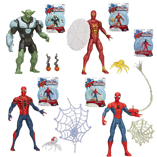 Ultimate Spider-Man All-Stars Action Figures Wave 4 Case