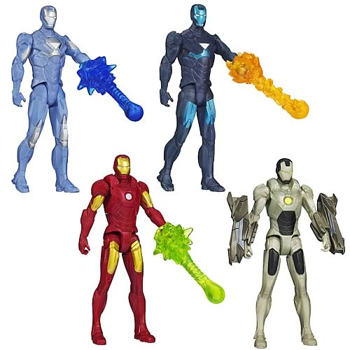 Iron Man 3 Movie All-Stars Action Figures Wave 1 Set