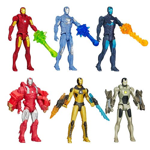 Iron Man 3 Movie All-Stars Action Figures Wave 2 Set