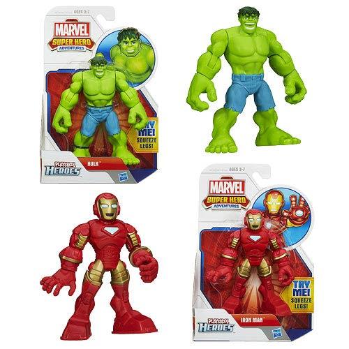 Marvel Super Hero Adventures Figures Wave 1 Case