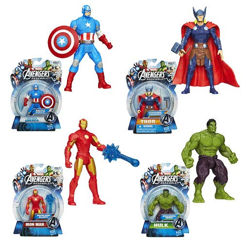 Avengers Assemble All-Star Action Figures Wave 1