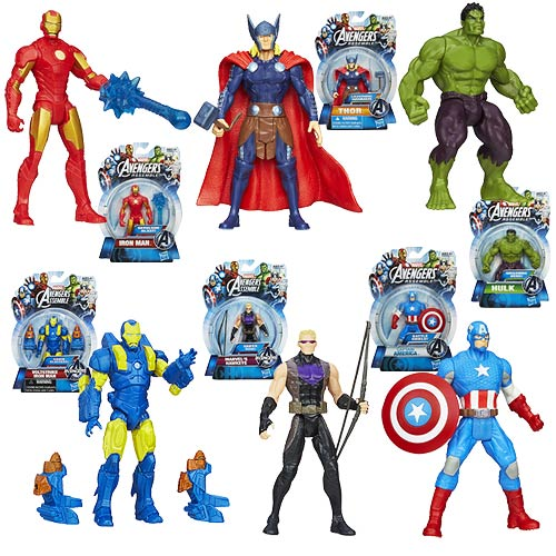 Avengers Assemble All-Star Action Figures Wave 2