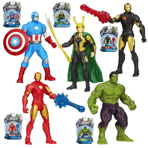 Avengers Assemble All-Star Action Figures Wave 3