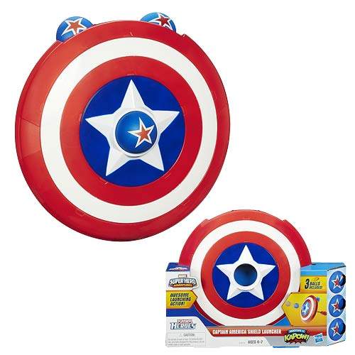 Captain America Super Hero Adventures Shield Launcher