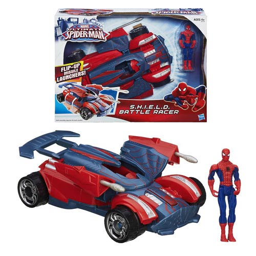 Ultimate Spider-Man S.H.I.E.L.D. Battle Racer Vehicle