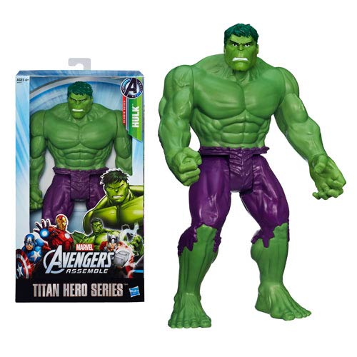 Avengers Assemble Titan Hero Hulk 12-Inch Action Figure