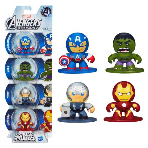 Avengers Assemble Micro Muggs Mini-Figures Multi-Pack