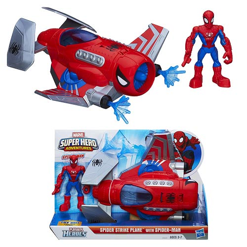 Spider-Man Spider Strike Plane Vehicle