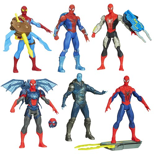 The Amazing Spider-Man 2 Spider Strike Action Figures Wave 2