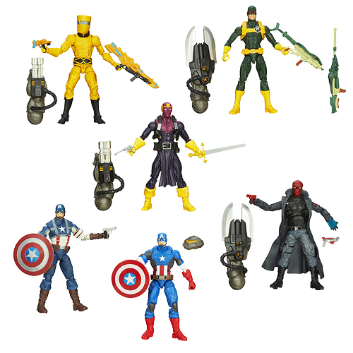 Captain America Marvel Legends Action Figures Wave 1