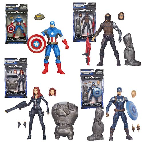 Captain America Marvel Legends Action Figures Wave 2 Rev. 1