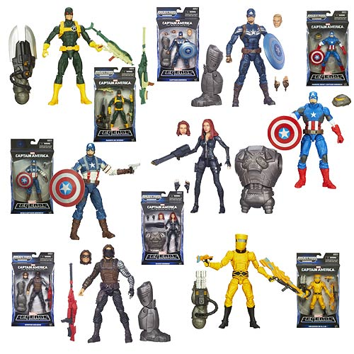 Captain America Marvel Legends Action Figures Wave 2 Rev. 2