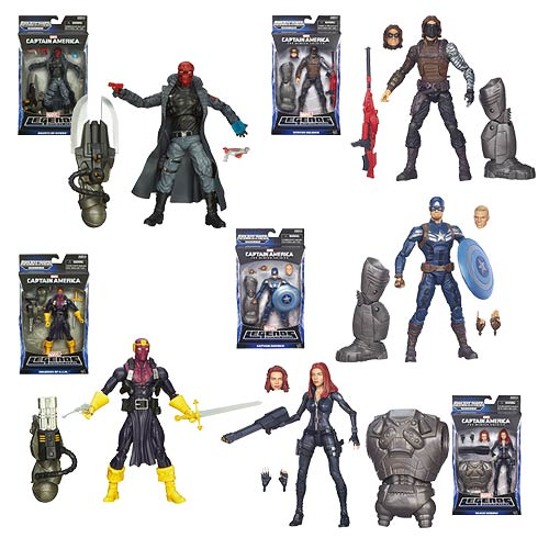 Captain America Marvel Legends Action Figures Wave 2