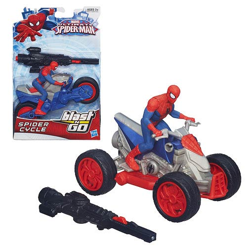 Ultimate Spider-Man Blast N Go Racer Vehicles Case