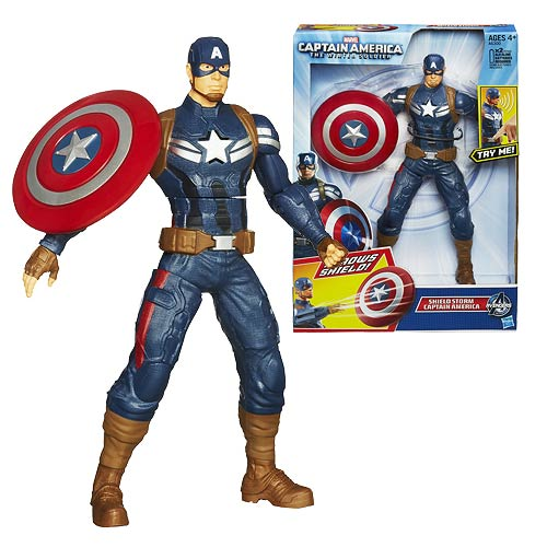 Captain America Winter Soldier Shield Storm 10-Inch Figure