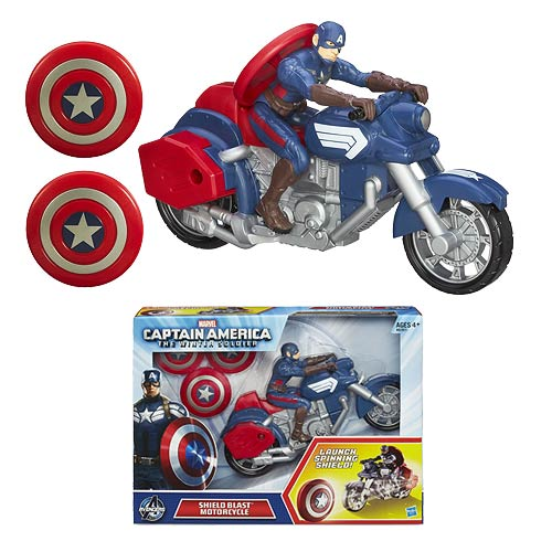 Captain America: Winter Soldier Shield Blast Motorcycle
