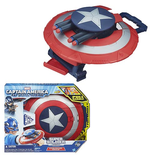 Captain America: The Winter Soldier Stealthfire Shield Toy