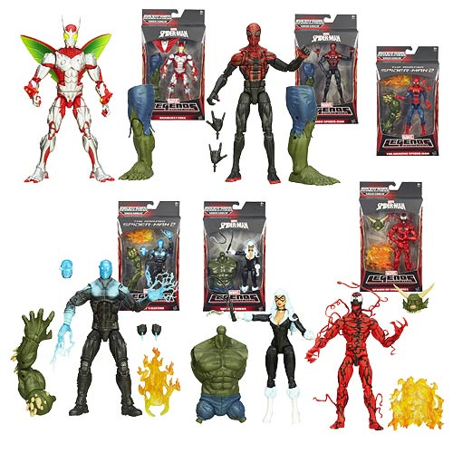 Amazing Spider-Man 2 Marvel Legends Figures Wave 1