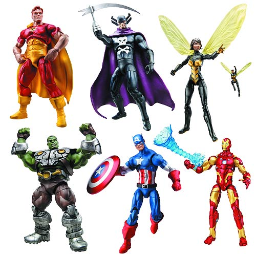 Marvel Infinite Action Figures Wave 1 Set