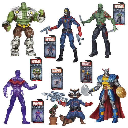 Marvel Infinite Action Figures Wave 4 Set