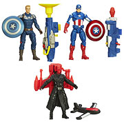 Captain America 2 Super Soldier Gear Action Figures Wave 1