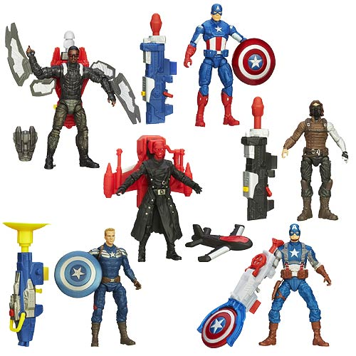 Captain America 2 Super Soldier Gear Action Figures Wave 2