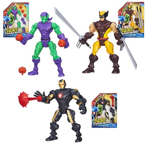 Marvel Super Hero Mashers Action Figures Wave 2