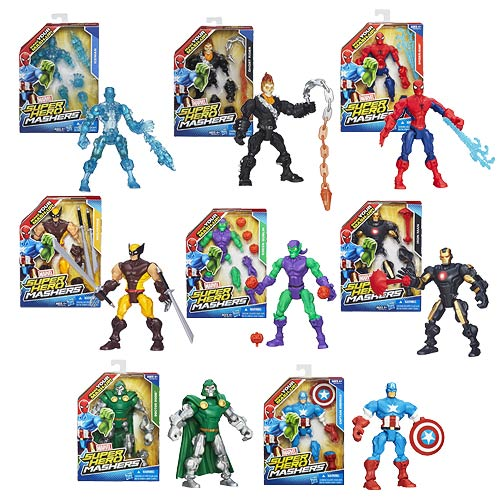 Marvel Super Hero Mashers Action Figures Wave 3