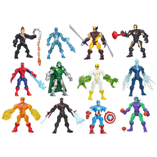 Marvel Super Hero Mashers Action Figures Wave 4