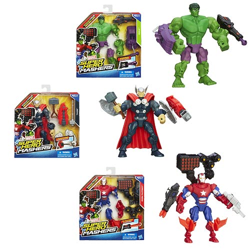 Marvel Super Hero Mashers Upgrade Action Figures Wave 1