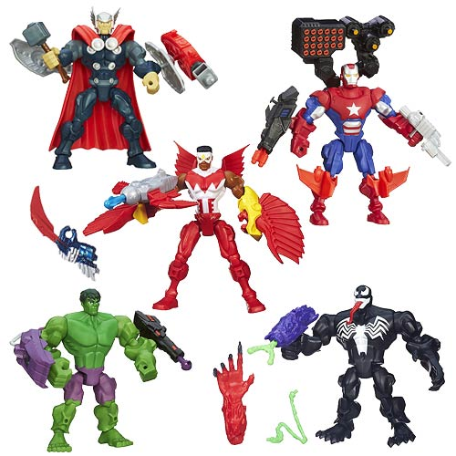 Marvel Super Hero Mashers Upgrade Action Figures Wave 2