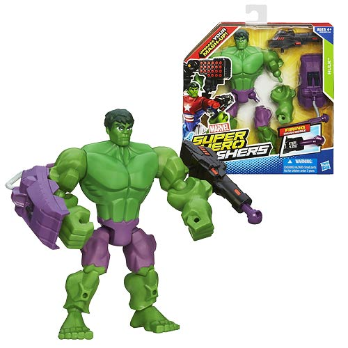 Hulk Marvel Super Hero Mashers Action Figure