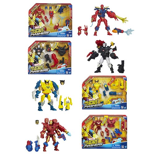 Marvel Super Hero Mashers Electronic Action Figures Wave 2