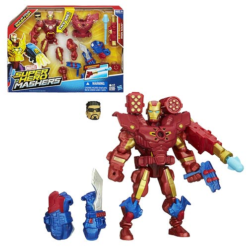 Iron Man Marvel Super Hero Mashers Electronic Action Figure