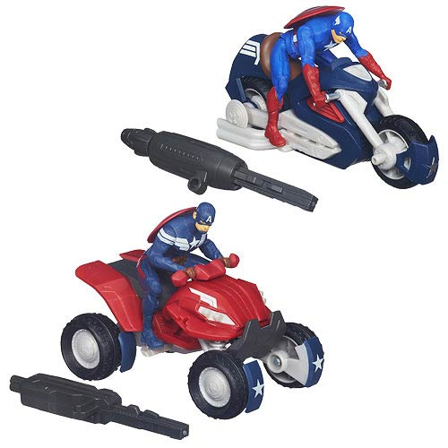 Captain America Blast N Go Vehicles Wave 1 Case