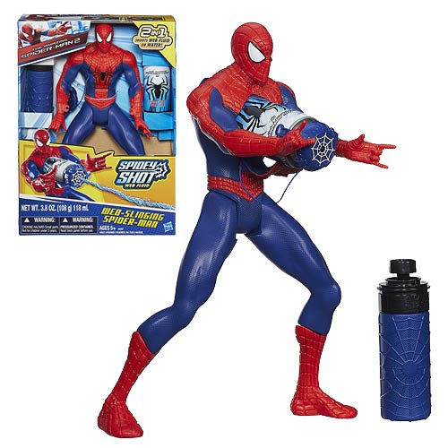 Amazing Spider-Man 2 Web-Slinging Spider-Man Action Figure
