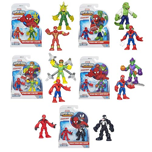 Marvel Super Hero Adventures Wave 2 Case