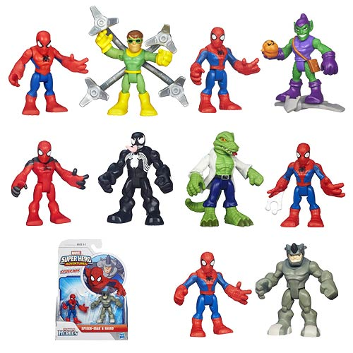 Marvel Super Hero Adventures Wave 3 Case
