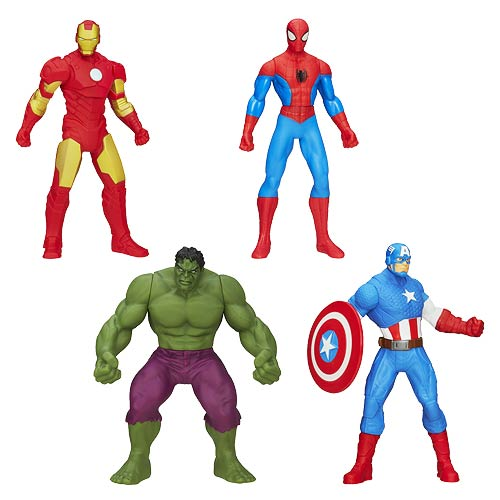 Avengers All-Star 6-Inch Vinyl Action Figures Wave 1