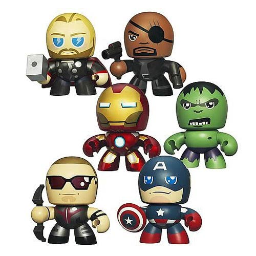 Avengers Micro Muggs Mini-Figures Wave 1 6-Pack