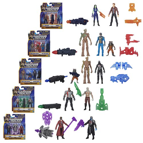 Guardians of the Galaxy Mini Action Figure 2-Packs Wave 1