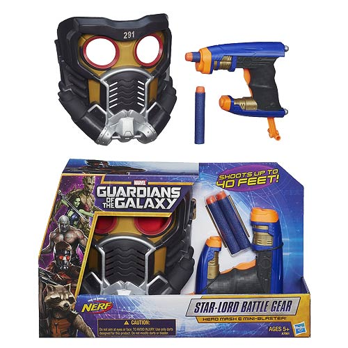 Guardians of the Galaxy Star-Lord Mask and Battle Gear