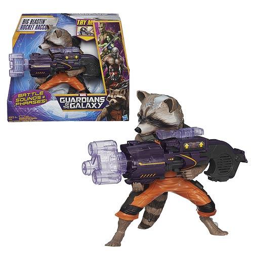 Guardians of the Galaxy Big Blastin Rocket Raccoon Figure