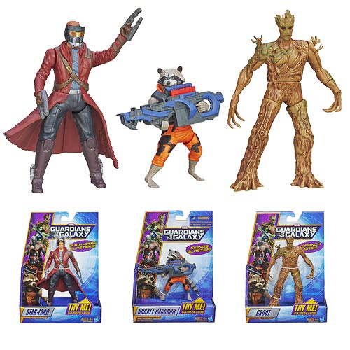 Guardians of the Galaxy Rapid Revealers Action Figure Wave 1
