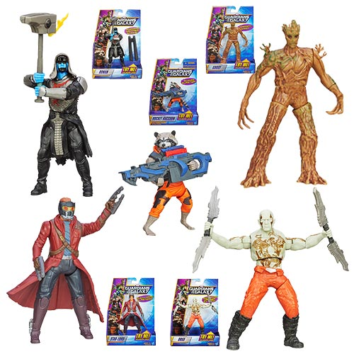 Guardians of the Galaxy Rapid Revealers Figures Wave 2 Rev.1