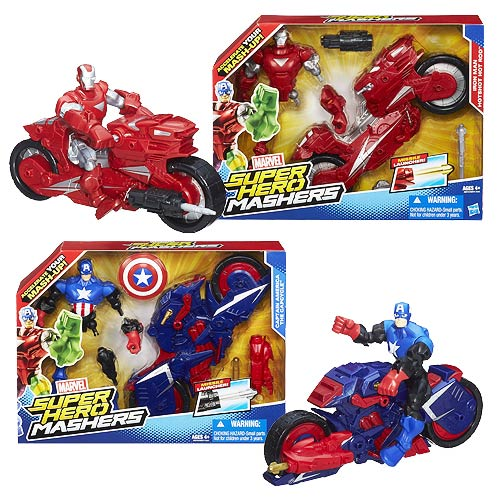 Marvel Super Hero Mashers Vehicles Wave 1 Set