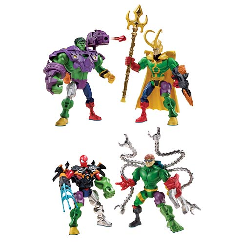 Marvel Super Hero Mashers Action Figure Battle Packs Wave 1