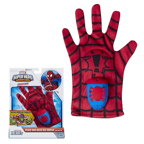 Spider-Man Adventures Water Web Shooter and Bath Toy